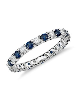 Blue Nile 33761 White Gold Wedding Ring
