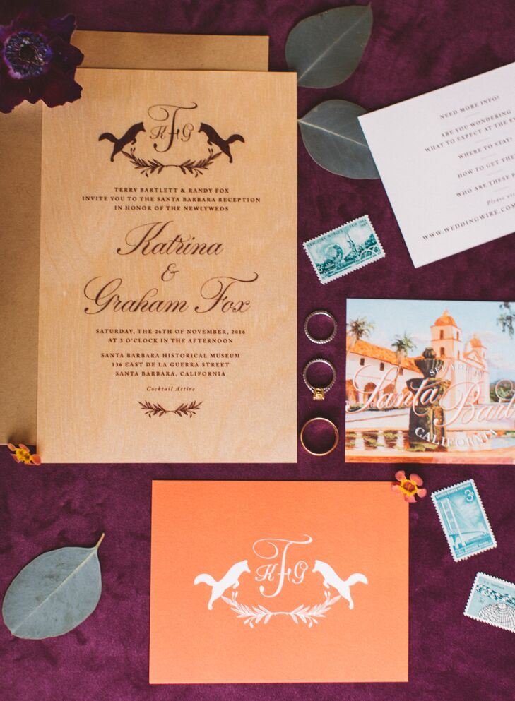 Casual Invitations with Custom Logo