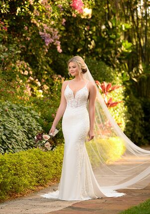 Essense of Australia D3063 Mermaid Wedding Dress