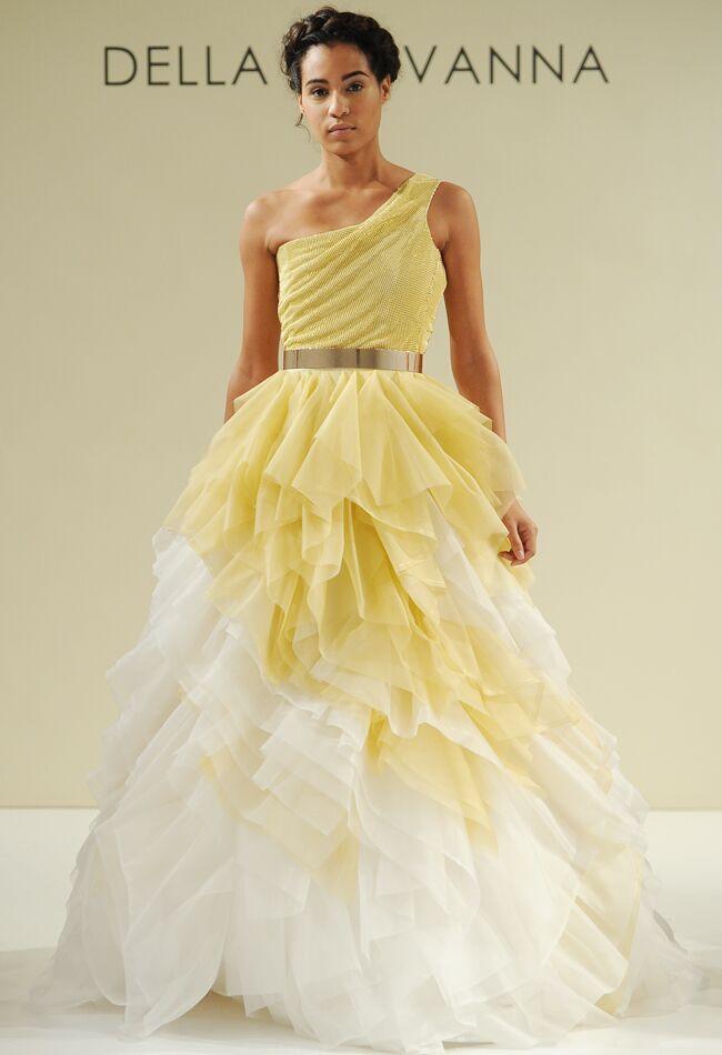 Della Giovanna Fall 2015 Wedding Dress Collection Includes Gold ...