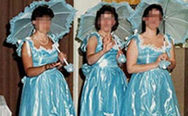 Terrible '80s Bridesmaid Fashions That Should