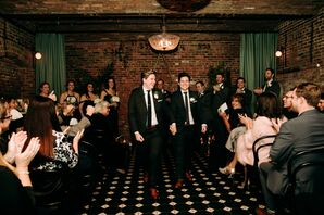 Industrial Recessional at the Wythe Hotel in Brooklyn, New York