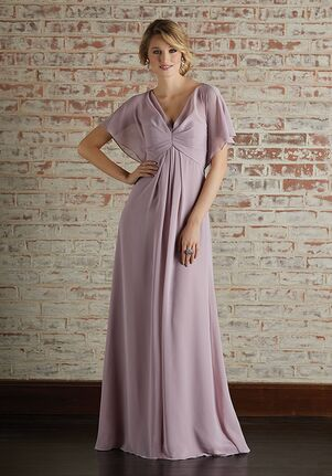 Morilee by Madeline Gardner Bridesmaids 21594 V-Neck Bridesmaid Dress
