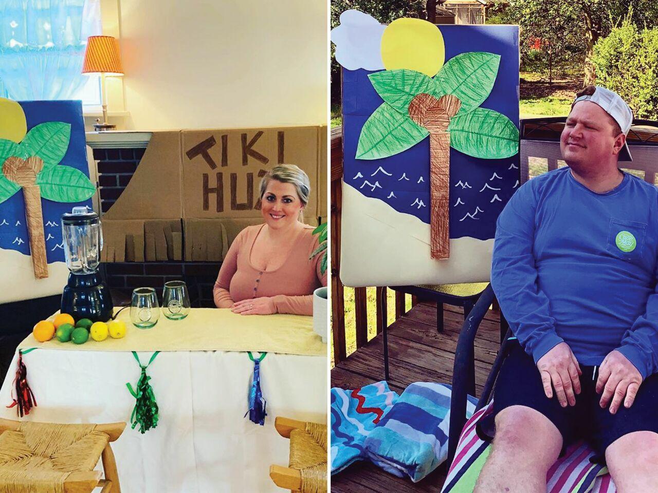 couple homeymoon stay at home honeymoon ideas