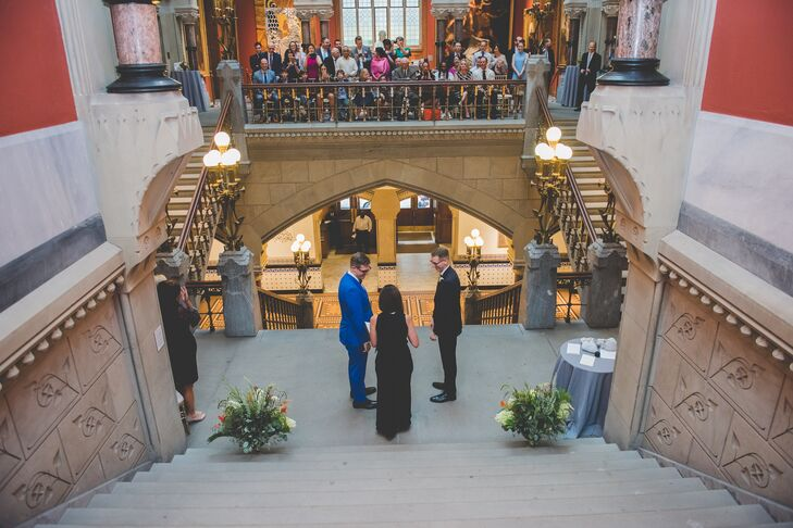 Ceremony at the Pennsylvania Academy of the Fine Arts
