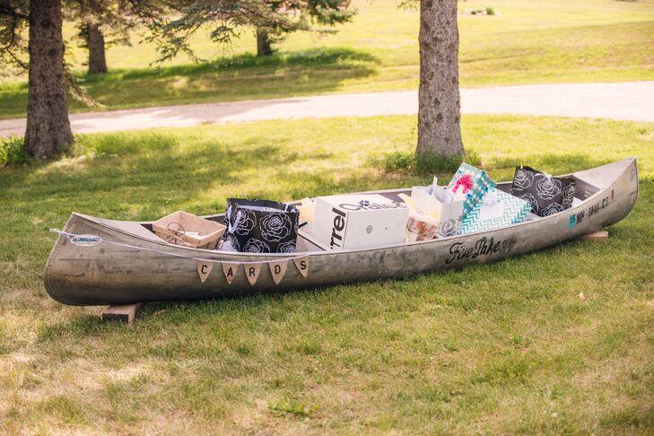 Rustic Wood Canoe