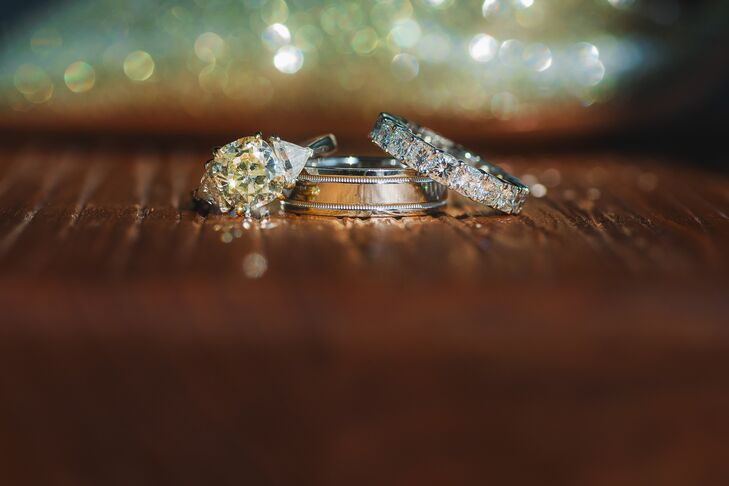 Wempe Engagement Ring and Wedding Bands