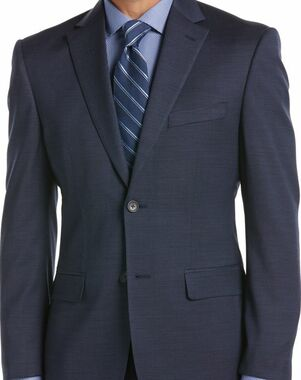 Men's Wearhouse Kenneth Cole Awearness® Blue Suit Blue Tuxedo