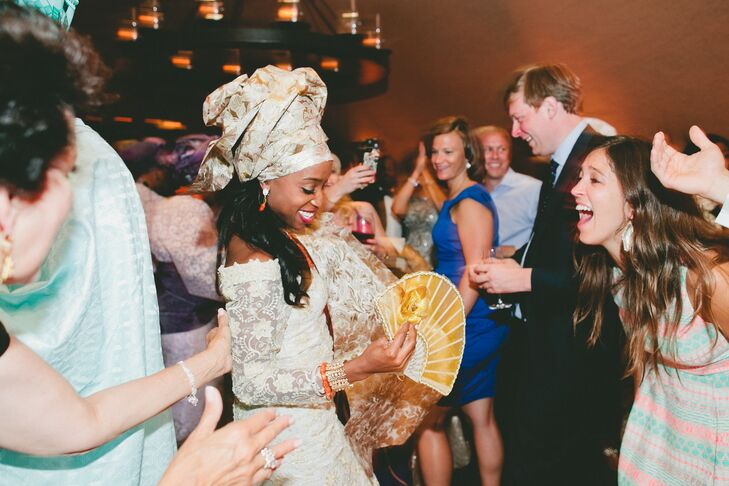 Nigerian Wedding Reception Attire