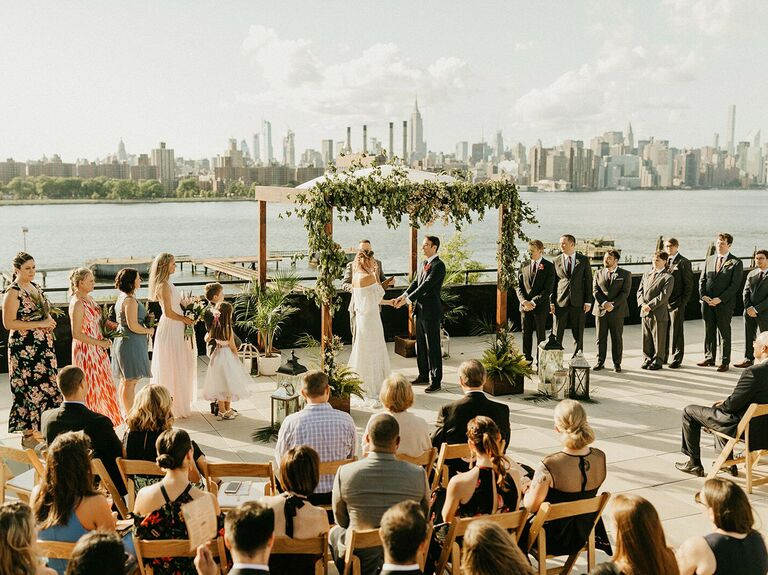 Outdoor Wedding Venues W Loft Brooklyn
