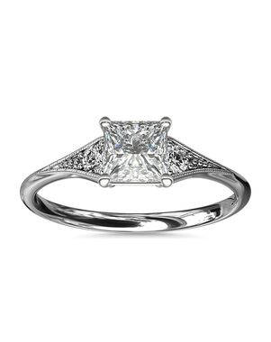 Blue Nile Princess Cut Engagement Ring