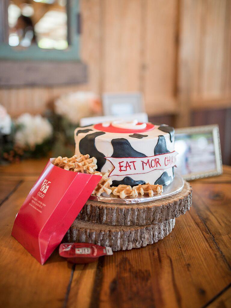 Chick-fil-A groom's cake idea