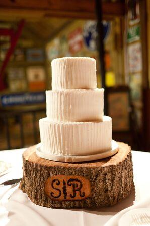 Three-Tier White Cake