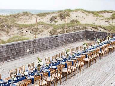Beach wedding venue zodiac
