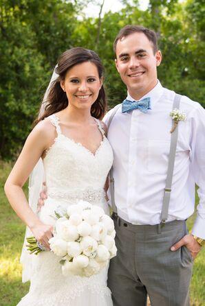 Pronovias Ivory Lace Umana Wedding Dress