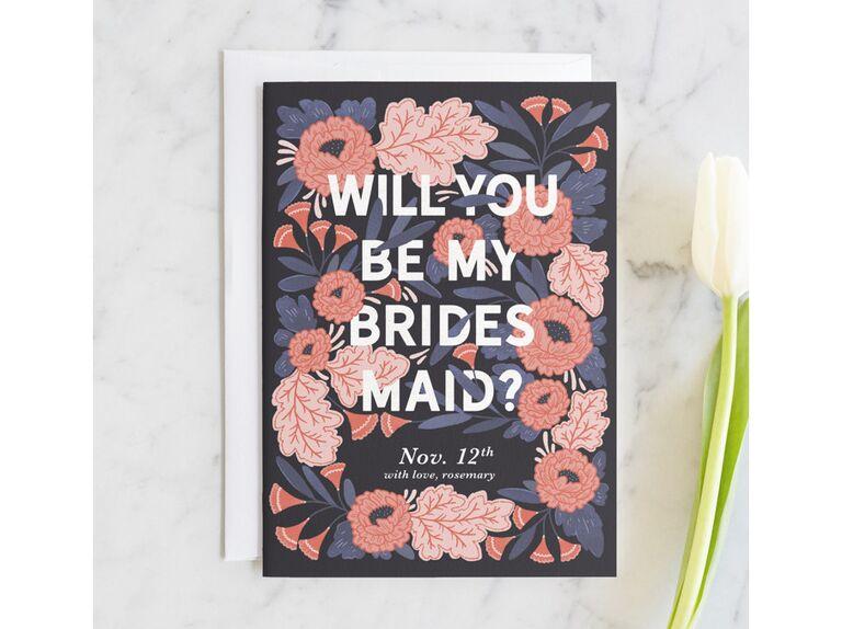 40 creative bridesmaid proposal ideas