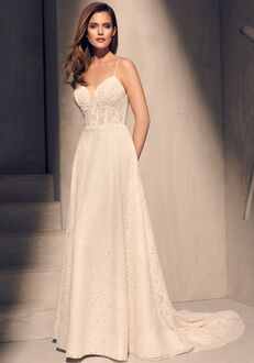 Mikaella 2201 A-Line Wedding Dress