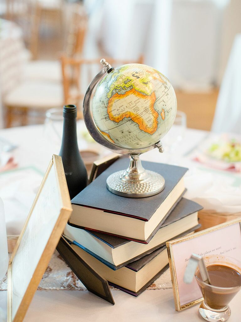 Non Fl Centerpiece Ideas With Books