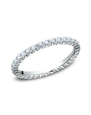 Benchmark 552623W White Gold Wedding Ring