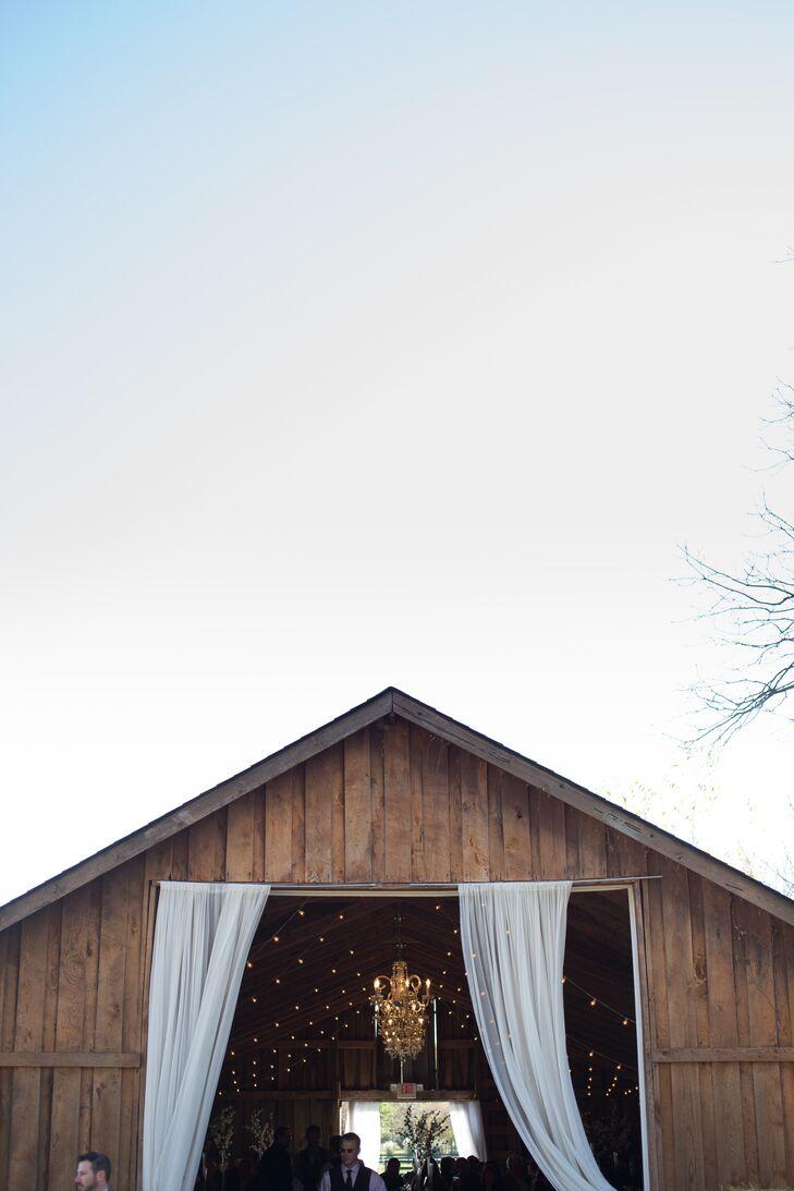 Rustic Barn Wedding With Draping