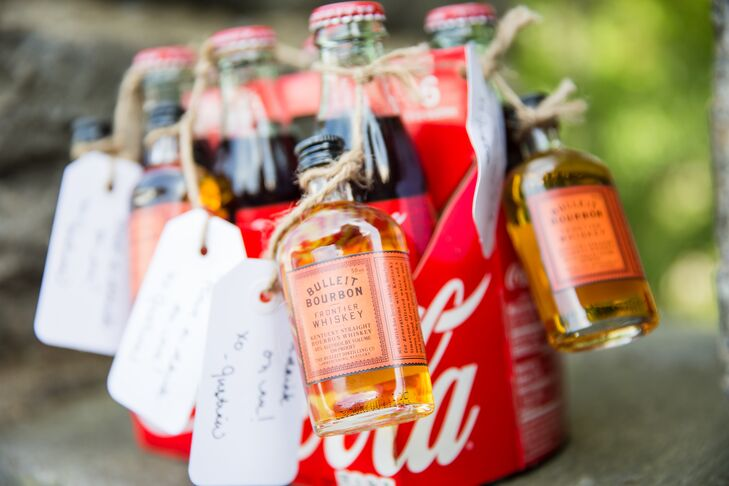 Whiskey and Coke Favors