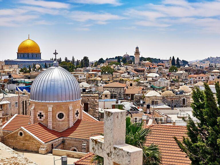 Old City in Jerusalem, Israel