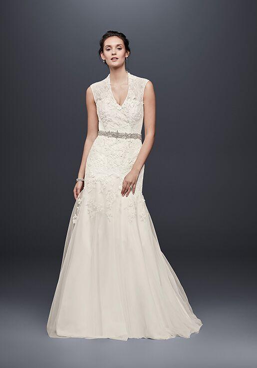 53b77ac344516 Melissa Sweet for David's Bridal Melissa Sweet Style MS251005 Mermaid Wedding  Dress