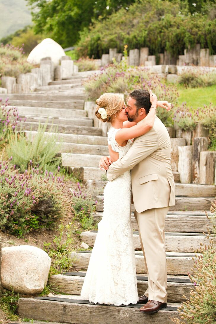 Gena and Vittorio celebrated their marriage at Carmel Valley Ranch in Carmel, California. Drawing on their Italian roots and a clean, earth tone color pallette of neutrals and darker browns, the couple created an elegant event for friends and family.