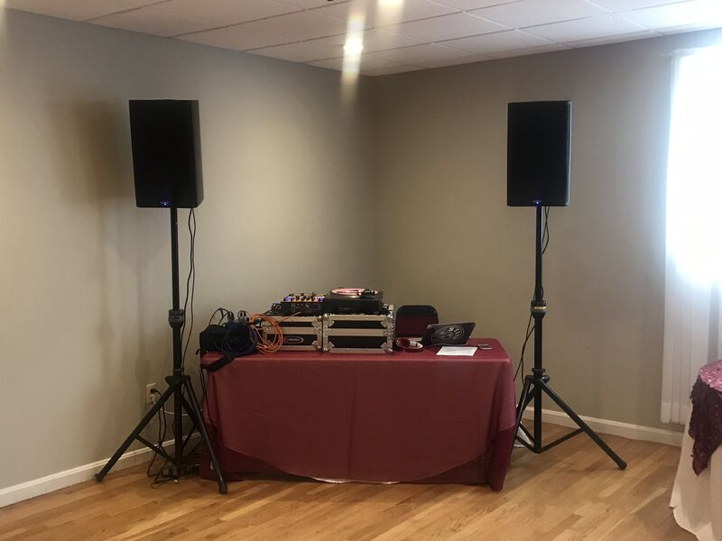 Small setup for a quick party!