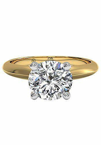 Ritani Round Cut Engagement Ring