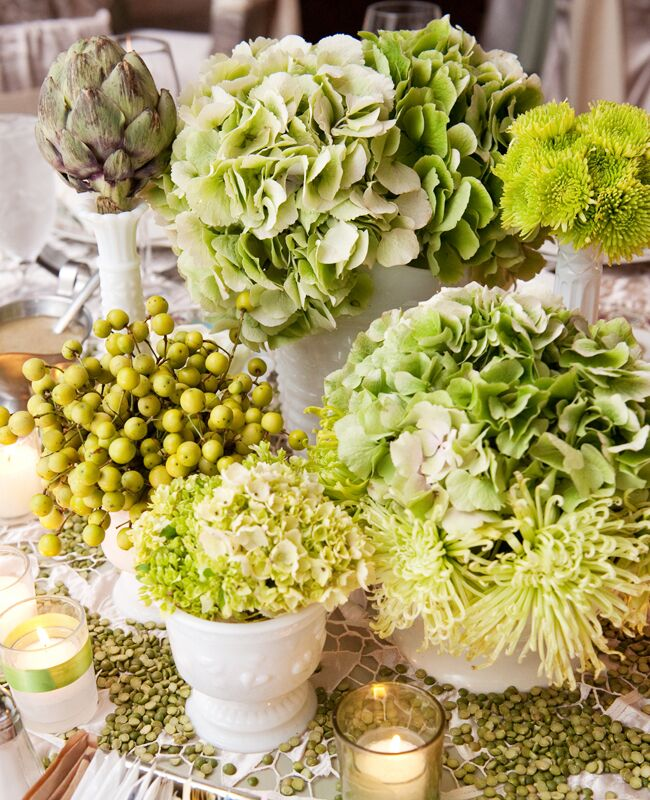 10 Rustic Centerpieces With Vegetables