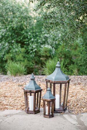 Lantern Aisle Decor
