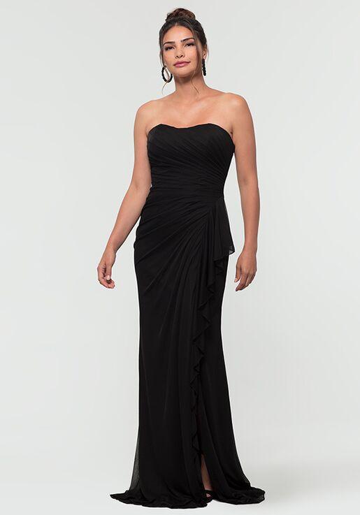 Kleinfeld Bridesmaid KL-200126 Strapless Bridesmaid Dress