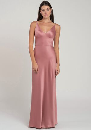 Jenny Yoo Collection (Maids) Marla V-Neck Bridesmaid Dress
