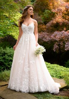 Essense of Australia D3032 A-Line Wedding Dress