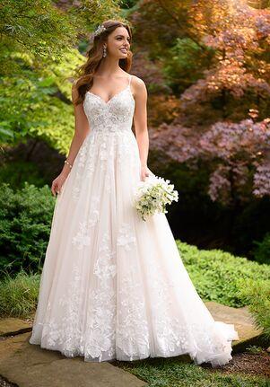 Essense of Australia D3032 A-Line Wedding Dress