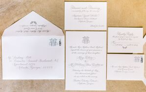Exquisite Stationery crafted the wedding suite
