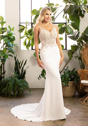 Beloved by Casablanca Bridal BL319 Evie Sheath Wedding Dress