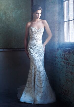 Enaura Bridal Couture ES402 Mermaid Wedding Dress
