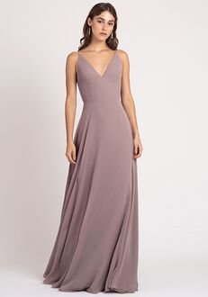 Jenny Yoo Collection (Maids) Dani V-Neck Bridesmaid Dress