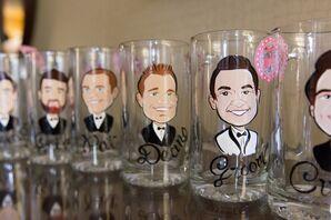 Groomsmen Gifts, Personalized Beer Mugs