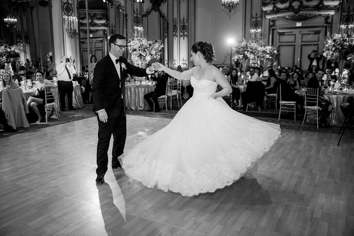 Classic First Dance at The Fairmont San Francisco