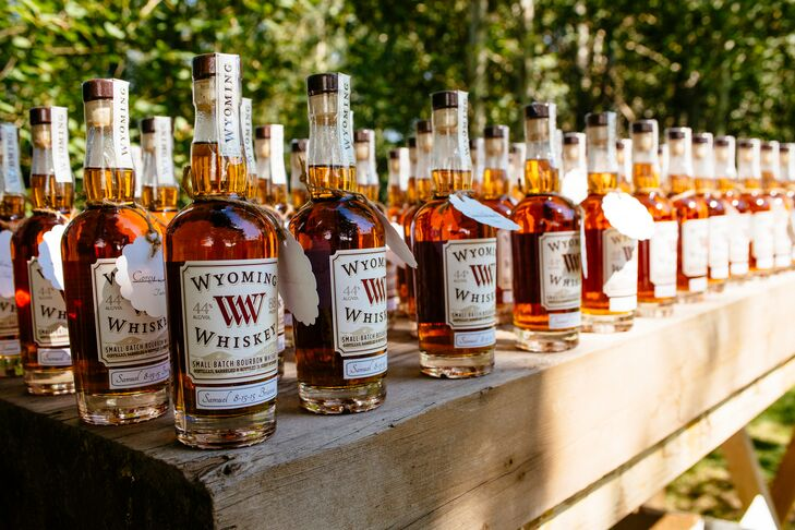 Wyoming Whiskey Escort Cards