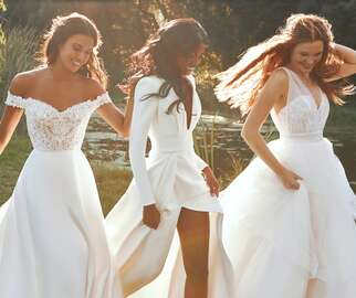 Pronovias Launches Sustainable Wedding Dresses