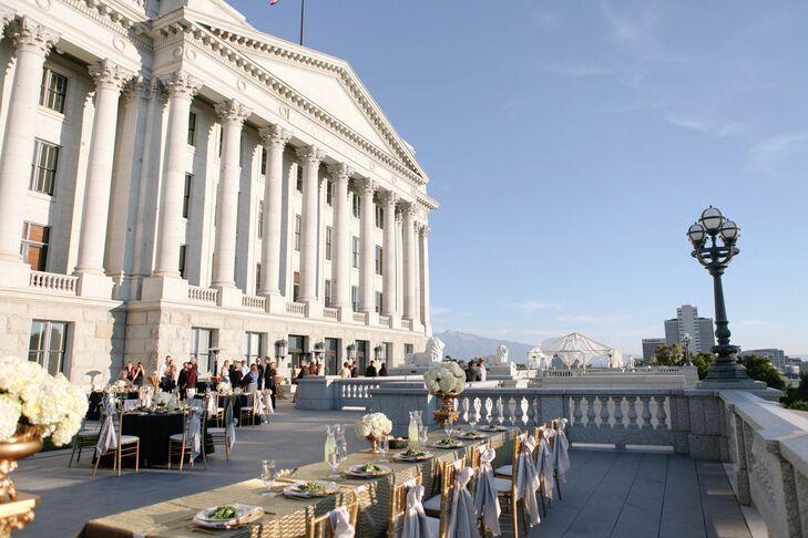 Utah State Capitol Balcony Reception