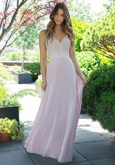 Hayley Paige Occasions 5864 V-Neck Bridesmaid Dress