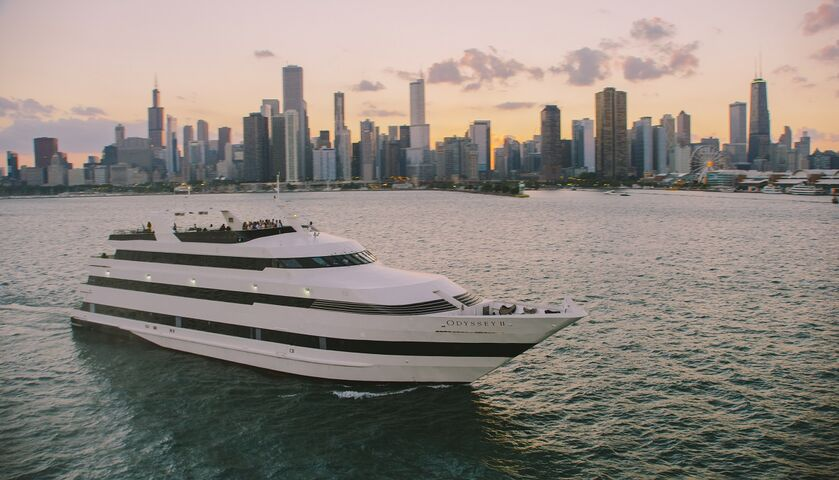 Entertainment Cruises offers more than an event on the water; we create unforgettable memories on Lake Michigan. Our fleet can accommodate any type of casual or formal event, from corporate and social outings to weddings and anniversaries, birthdays and much more. Show guests a new side of Chicago.