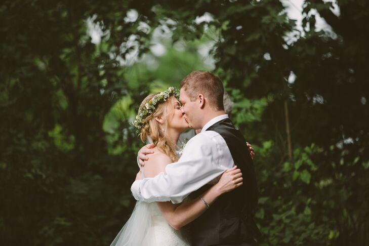 Wedding Portrait in Upper St. Clair, Pennsylvania