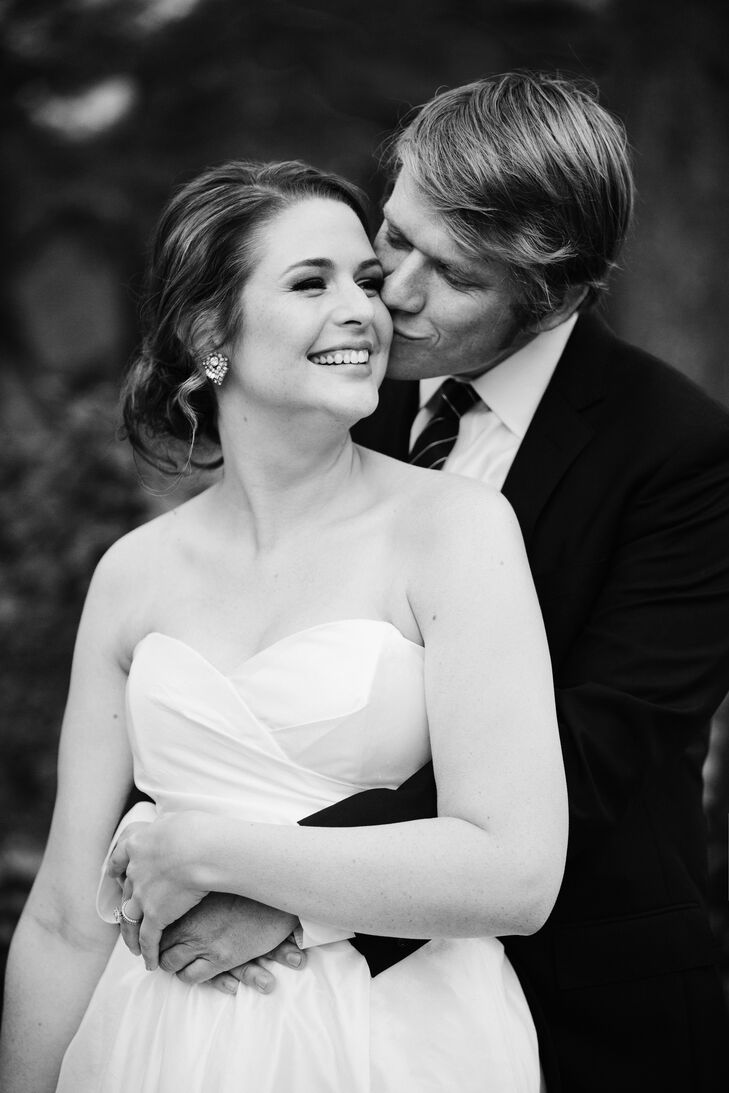 """""""Even though I never would've guessed it before the wedding, the ceremony ended up being my favorite part of the day,"""" says Tessa. """"A few of my girlfriends did readings [that] were just so special and emotional, and David's older brother Chris was our officiant."""""""