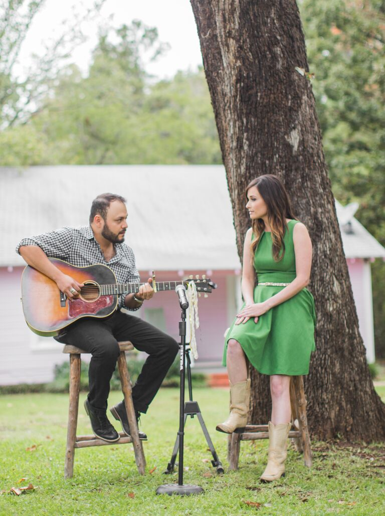 Kacey Musgraves sang at her sister's wedding